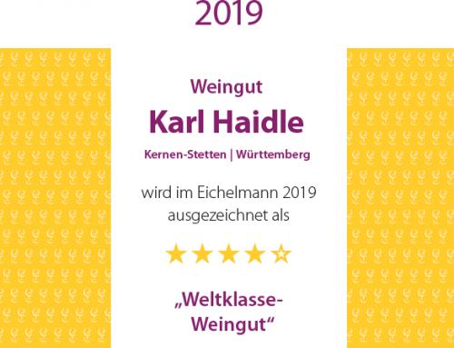 Eichelmann Wine Guide 2019 – Weltklasse Weingut!